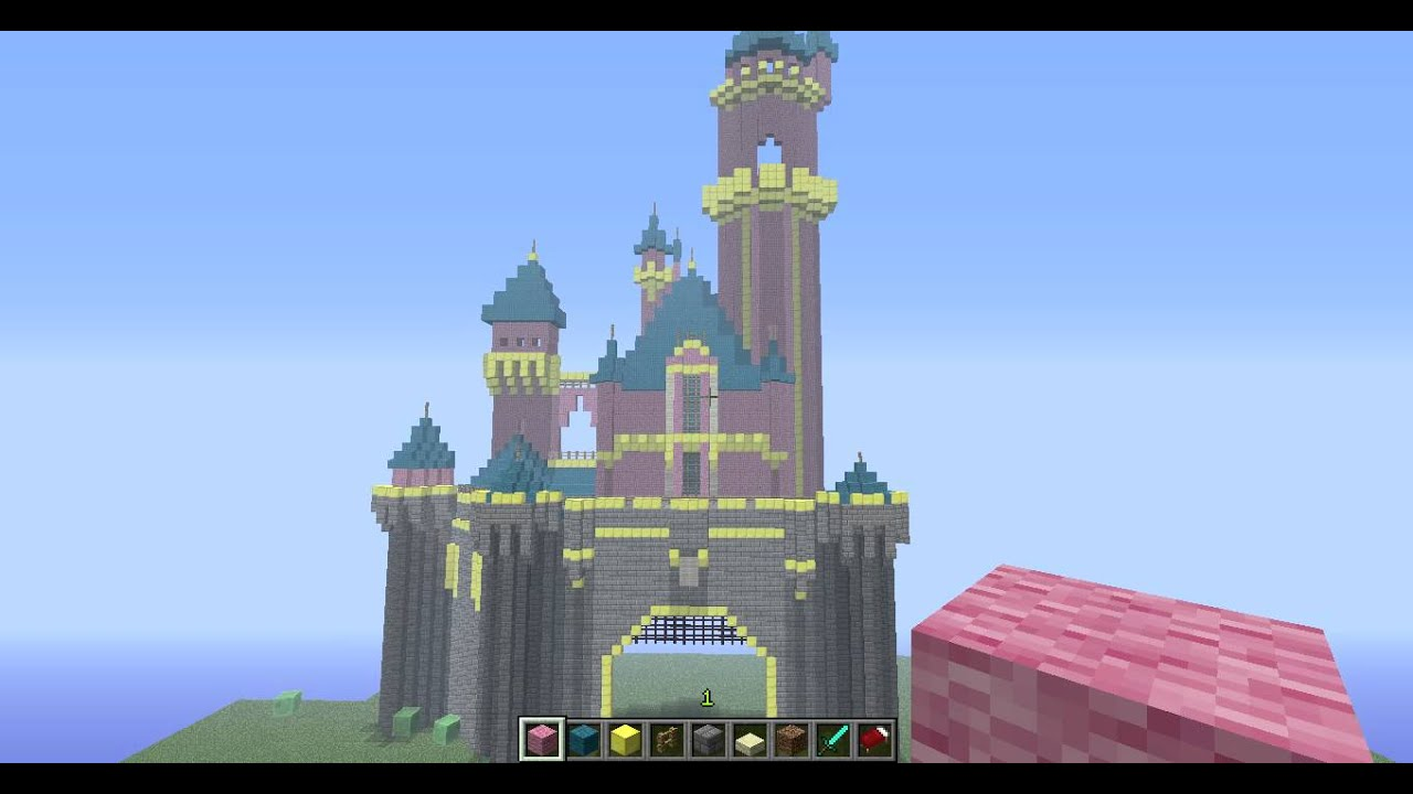 Minecraft Disneyland Update 1 Hd Youtube