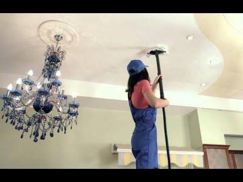6 подсказок, которые помогут правильно вымыть натяжной потолок