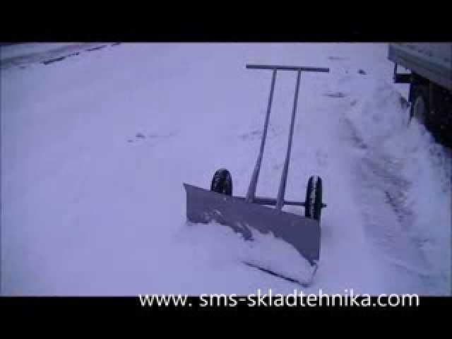 Как сделать большую лопату для уборки снега