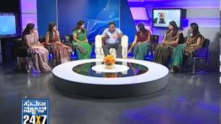 Seg_ 1 - Ambarish with Suvarna Girls - 13 Jan 2013 - Suvarna News