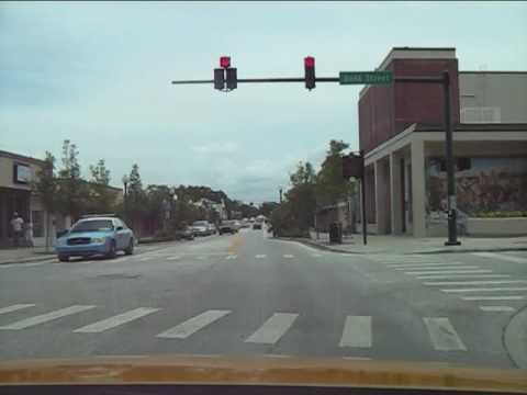 Main Street - New Port Richey Florida