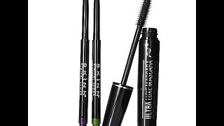 Mascara and Liner Review From Skinn Cosmetics