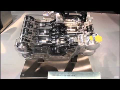 CIAS 2012 Subaru 3.6L Boxer Engine Cutaway