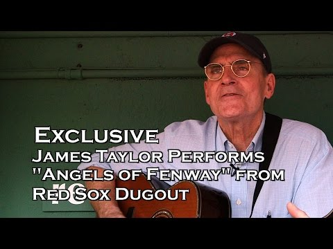 """EXCLUSIVE: James Taylor sings """"Angels of Fenway"""" from Red Sox Dugout"""