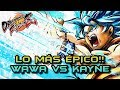 LLEGA UNO DE LOS VÍDEOS MÁS ÉPICOS DEL CANAL!! WAWA vs KAYNE - DRAGON BALL FIGHTERZ: ONLINE