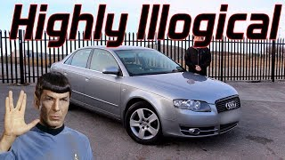 Here's Why My Audi A4 Is Completely Illogical