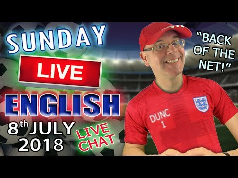 Learning English - Live Lesson - 8th July 2018 - 2pm UK time - Improve Your Listening Skills