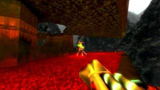 DOOMED (Doom remake for Quake 2): e1m8 (Phobos Anomaly)