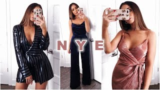 HOLIDAY PARTY OUTFITS!! RIVER ISLAND TRY-ON HAUL