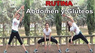ABDOMEN Y GLUTEOS DE ACERO - EJERCICIOS DE PIE PARA GLUTEOS PIERNAS ABDOMEN Y CINTURA