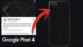 OFICIAL Google Muestra Fotos del NUEVO Google PIXEL 4 Para ACABAR CON LOS RUMORES Y FILTRACIONES