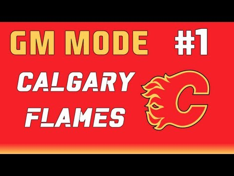 NHL 13: GM Mode Commentary - Calgary ep. 1