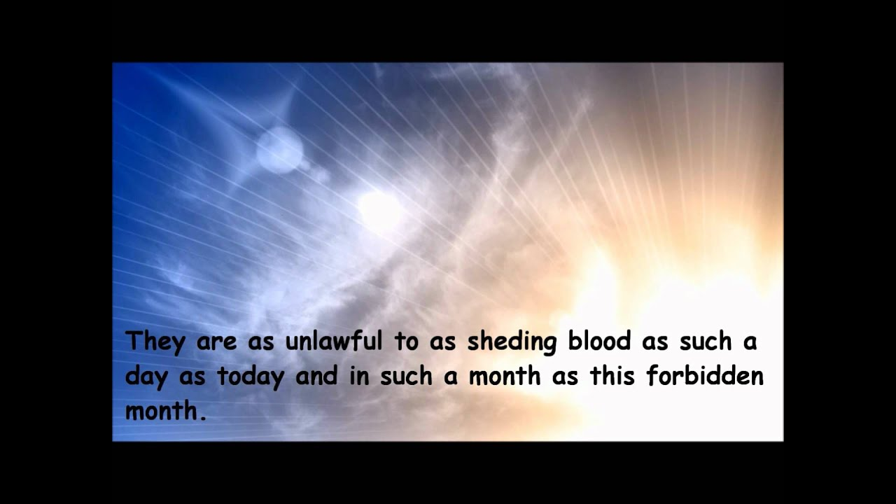 The Last Sermon of Prophet Muhammad Saw Prophet Muhammad 39 s Saw The