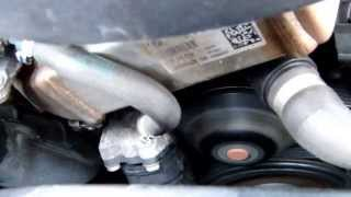 Water Pump Squeak on 2009 BMW 120d E87 1 Series N47 Engine