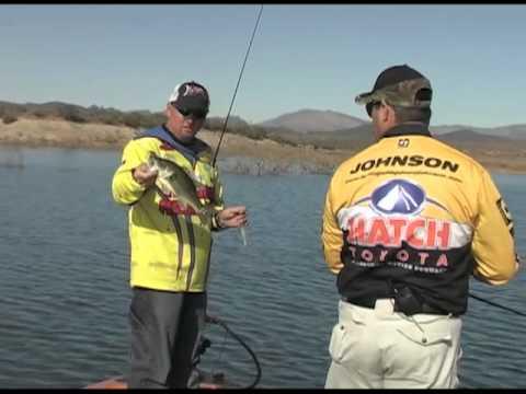 Fishing with johnny johnson lake pleasant az with jon for Johnny johnson fishing