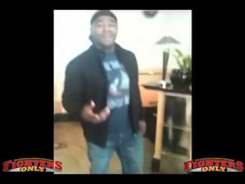Rampage Jackson Shows Rashad Evans The Stanky Leg video