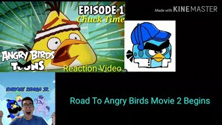 Angry Birds Toons Episode 1 Chuck Time Reaction Video With Enrique Zunigia Jr