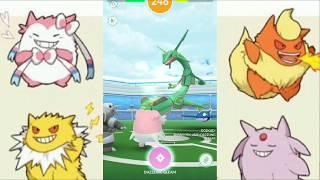 Blissy is good against Rayquaza Raid... Pokémon Go