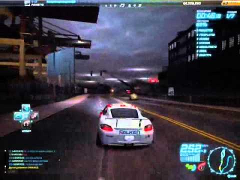 NFS World Porsche Сayman S тест Авто
