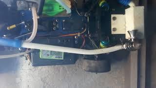 Key chain turbo rc car