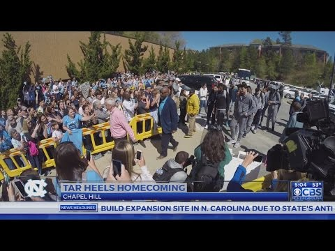 UNC basketball team returns