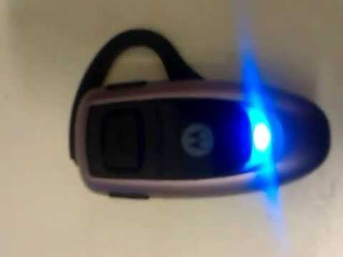 How to pair Motorola H350 bluetooth headset