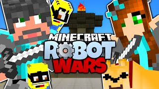 Minecraft | THINKNOODLES VS THINK'S WIFE! | Think's Lab HUSBAND VS WIFE! | Minecraft Robot Wars