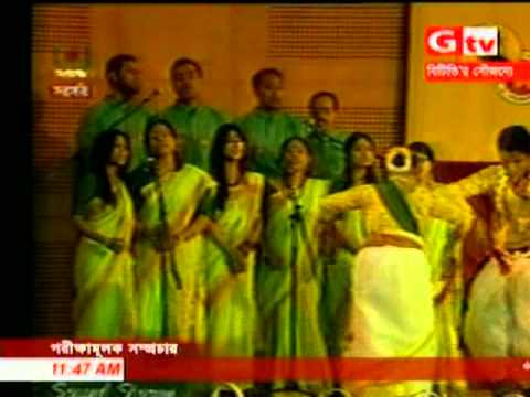 Rabindra Jayanti -Bangladesh, India jointly launch Tagore's birth anniversary,6th May,2011.mpg