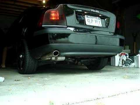 02 Volvo s60 2.4T AWD exhaust 1 - YouTube