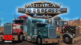 Lets Play: American Truck Simulator  DAY 1 (LIVE)
