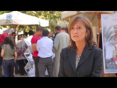 UN Day 2014 word from UNIDO Representative and Head of the Regional Office, Giovanna Ceglie