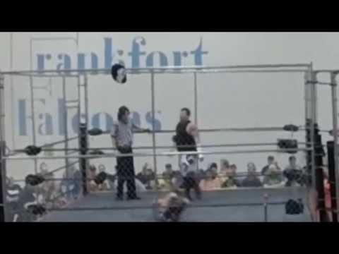 Elite Pro Wargames Shane Malice cage match highlights then injury