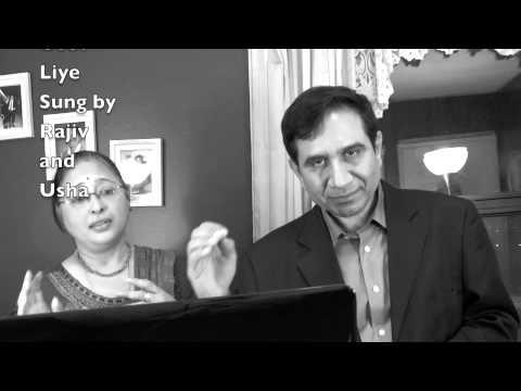 Aha rim jhim ke ye pyare pyare geet liye(sung by Rajiv and Usha...