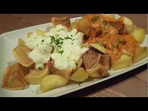 Salsa brava en Thermomix - Patatas dos salsas paso 2