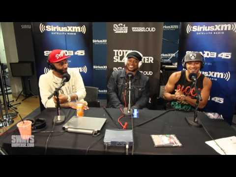 Joe Budden & Hollow Da Don at each other's throat! Slaughterhouse too!