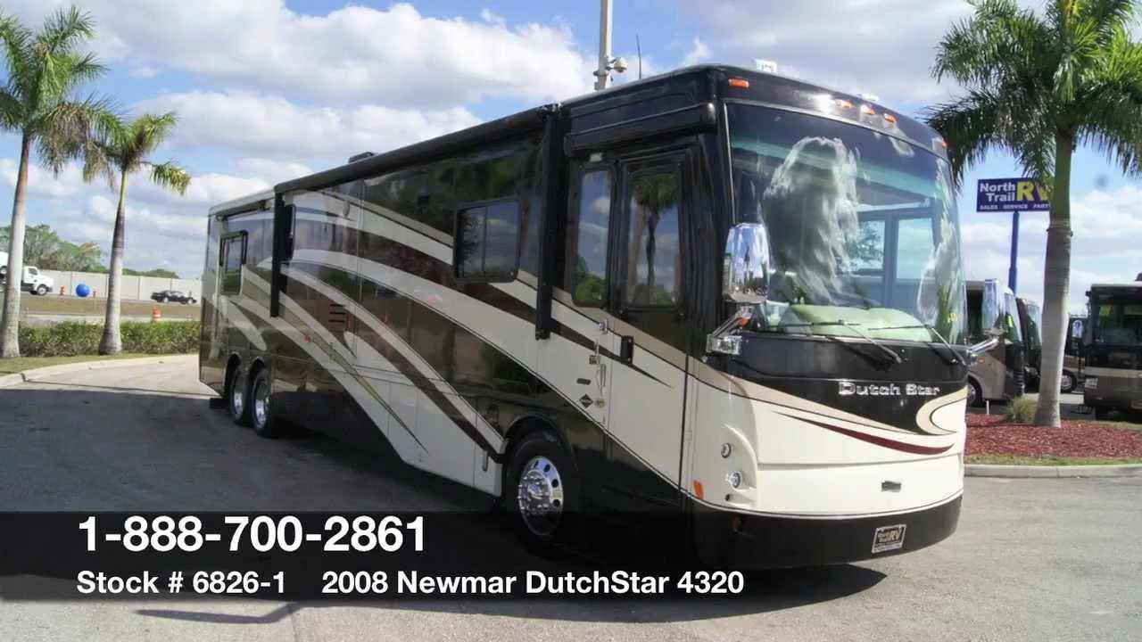 Newmar 2008 Dutch Star 4320 Class A Diesel Motorhome For