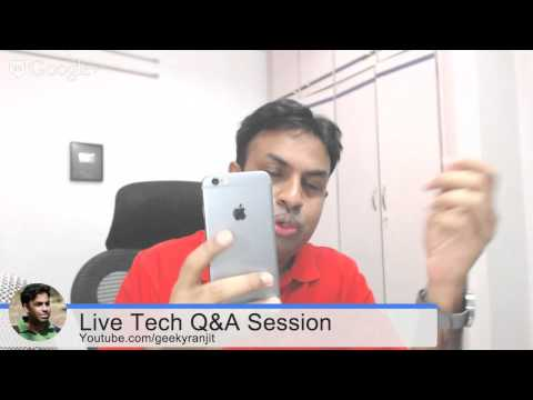 #61 Live Tech Q&A Session with Geekyranjit #GrandDiwaliMela - 21 Oct 2014