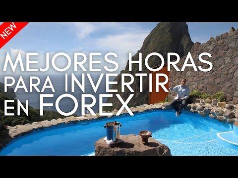 Las mejores horas para invertir en el Forex