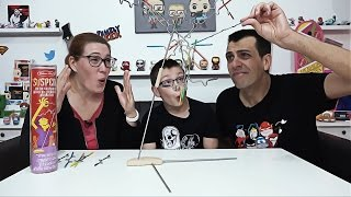 MEGA FAIL DE C-LINE !! Jeu De Suspension - Family Geek