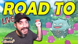 ROAD TO SHINY KOFFING & WEEZING | POKÉMON LET'S GO EEVEE