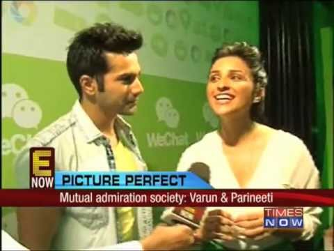 Bollywood's new jodi: Varun Dhawan & Parineeti Chopra