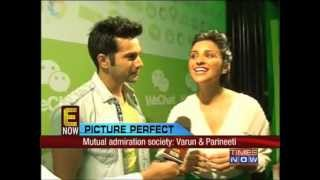Bollywood's new jodi_ Varun Dhawan & Parineeti Chopra