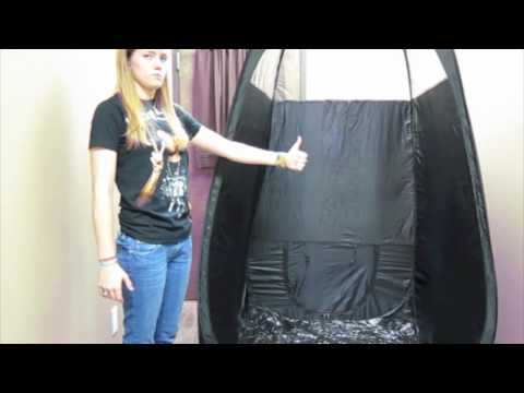 How to Use a Popup Tanning Tent
