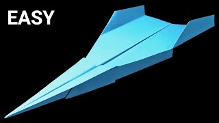 How to make the FASTEST Paper Airplane in the World 🔻 Brown