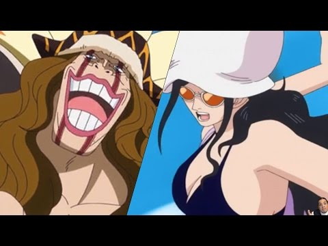 One Piece 774 Manga Chapter ワンピース Review -- Robin Vs Diamant...