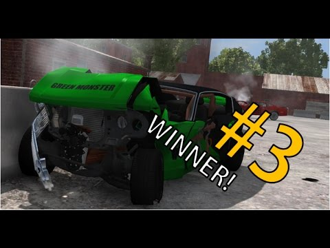 Win for the FIRST TIME! (Beamng. Drive - Demolition Derby) #3