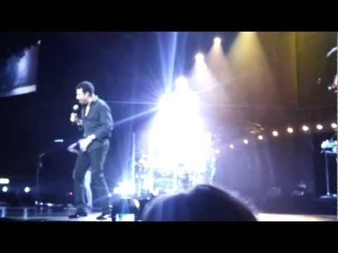 Lionel Richie - My Destiny Live Ericsson Globe Arena, Stockholm, Sweden, Oct 16,2012