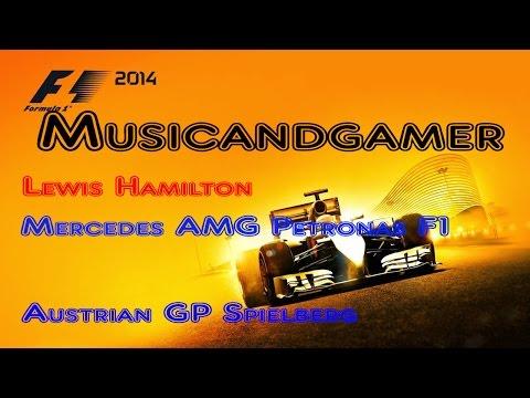 F1 2014 | Austrian GP | Mercedes Lewis Hamilton