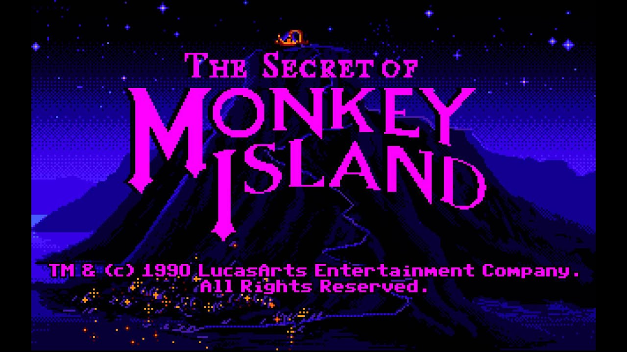 Secret Of Monkey Island Sega Cd