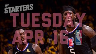 NBA Daily Show: Apr. 16 - The Starters